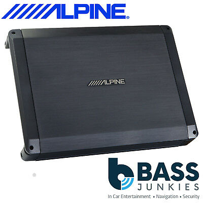Alpine BBX-F1200 4 Channel BBX Power Class A/B Amp 600 Watts Car Amplifier