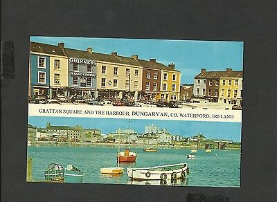 Colour Postcard Grattan Square and Harbour Dungarvan Waterford Ireland unposted