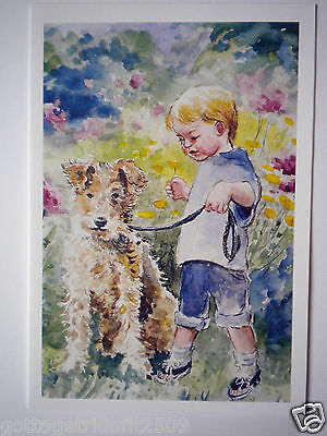 """""""WHO IS HOLDING WHO?"""" GREETING CARD w/ENVELOPE ~ C. Henderson Pew"""