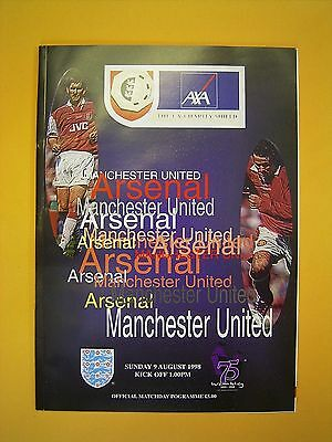 FA Charity Shield - Arsenal v Manchester United - 9th August 1998
