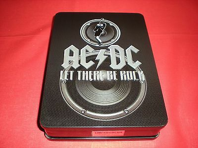 Ac/dc Let There Be Rock Dvd Box Set