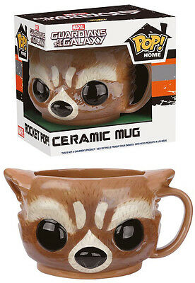 Guardians Of The Galaxy Tasse Rocket Raccoon Keramik Becher Pop! Home