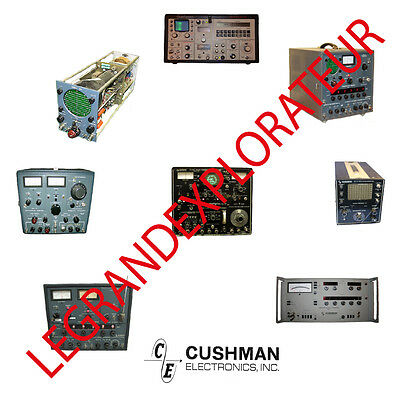 Ultimate Cushman Instruments Repair Service & Operation manuals   PDF manual DVD