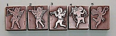 """MUSICAL CHERUBS"" BOOKPLATES Printing Blocks."