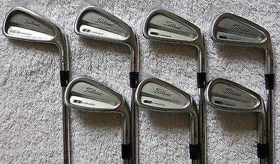 Titleist 712 CB Forged irons 4-PW. R300 shafts !! FREE P&P !! PGA Pro seller