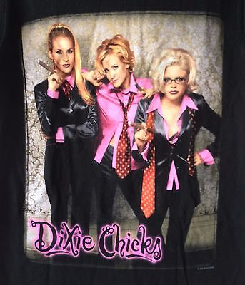 Vintage 1999-Dixie Chicks-Tour/concert-2 Sided-T-Shirt-Small-Rare