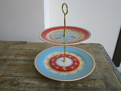 MAXWELL & WILLIAMS CASHMERE ENCHANTE High tea 2 tier cake stands (7)