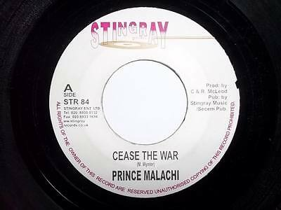 """PRINCE MALACHI Cease The War 7"""" vinyl Sound Clip in Listing"""