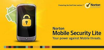 Norton Mobile Security Android Tablets & Smartphones 2 Device's Lifetime.