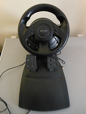 Microsoft Sidewinder Precision Racing Wheel USB Volante PC