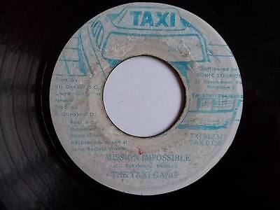 """TAXI GANG Mission Impossible 7"""" vinyl Sound Clip in Listing"""