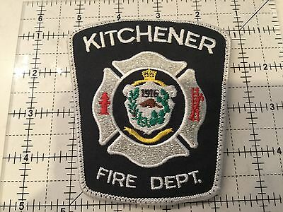 Canada Ontario Patch Kitchener Fire Department
