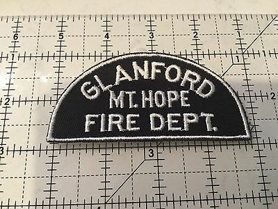 Canada Ontario Patch Glanford Mt Hope Fire Department