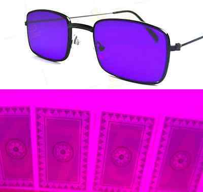 Infrared IR marked magic poker trick cards and perspective sunglasses