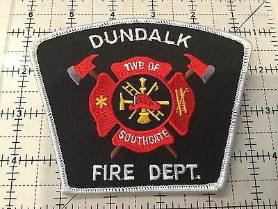 Canada Ontario Patch Dundalk Fire Department
