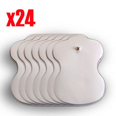 Electrode Pads Reusable For Stud Tens Machines Digital Therapy Massager