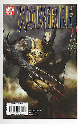 WOLVERINE #58  (2007)  ZOMBIE VARIANT Cover   VF/NM