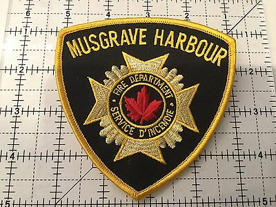 Canada Newfoundland Patch Musgrave Harbour Fire Department
