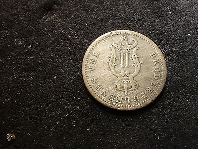 1890 Norway 10 ore coin- - -sh Canada is 1.50