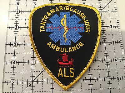 Canada New Brunswick Patch Tantramar Beausejour Ambulance