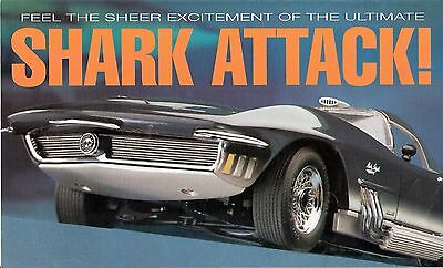 Franklin Mint 1:24 1965 Corvette Mako Shark - Concept Car Brochure