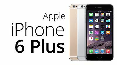 Apple iPhone 6+ Plus 16GB 64GB 128GB GSM Factory Unlocked Smartphone