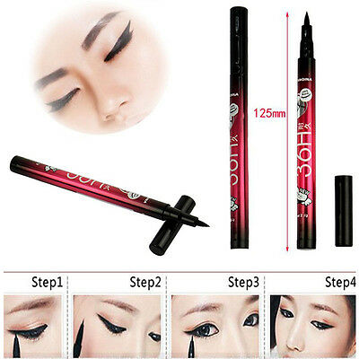 Hot Eyeliner Waterproof Beauty Cosmetics Black Liquid Eye Liner Pencil Pen