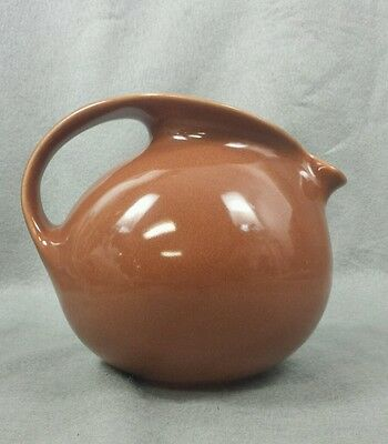 Russel Wright Sterling Redesigned Water Pitcher Cedar Brown