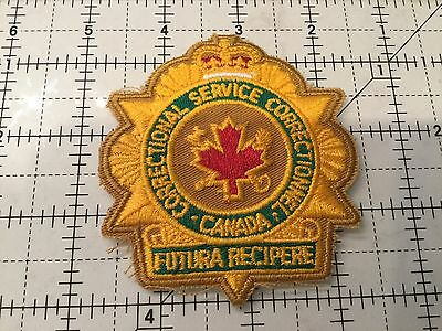 Canada Correctional Services Patch