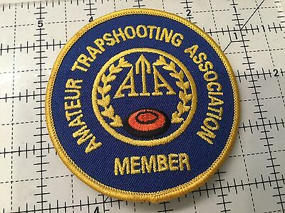 Canada Amateur Trapshooting Association Member Patch