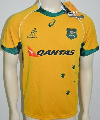BNWT - Wallabies 2015 Mens Rugby Jersey Size: XL  RRP.: $179.95