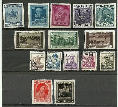 Romania used/mint lot/collection 1939-56
