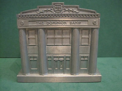 The Dominion Bank - Td 150Th Aniversary. Coin Bank