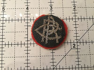 Canada Canadian Pacific Railway Gold Wire Cap Badge