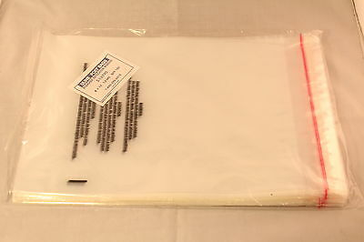 Uline Self-Sealing Suffocation Warning Poly Bags - 1.5mil Thick 8x10 x100