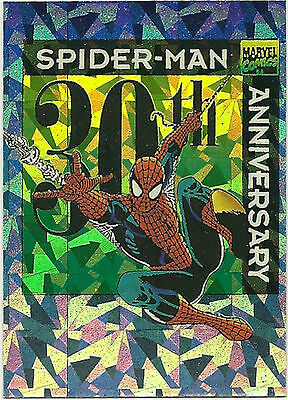 SPIDER-MAN 30th Anniversary trading cards Insert PRISM Card # P9.