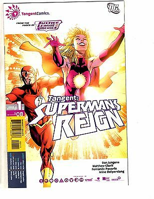 Lot Of 11 Tangent Superman's Reign # 1 2 3 4 5 6 7 8 9 10 12 NM 1st Print KS8