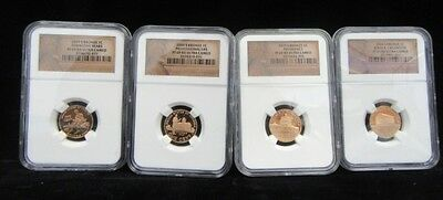 2009 S Lincoln Cents Bicentennial Set Ngc Proof 69 Red Ultra Cameo