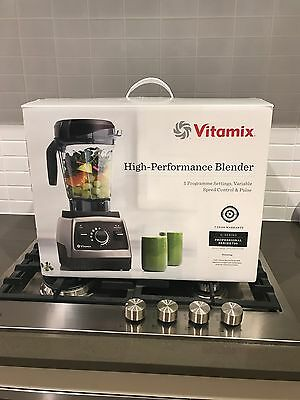 Vitamix G-Series Professional 750 Heritage Collection, Brushed Stainless NIB