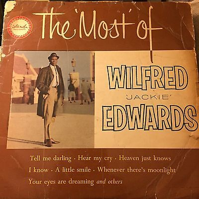 the most of wilfred jackie edwards island ilp906 1964 reggae LP