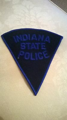 Indiana  State Police cloth patch