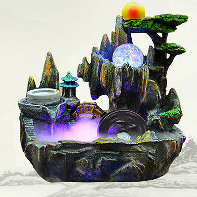 AMAZING Health Benefits Indoor Fountain Water Feature Spa Ornament Decor Home