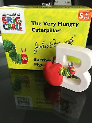 John Beswick Collectible Figurine - The Very Hungry Caterpillar - Letter B