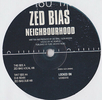"Zed Bias ‎– Neighbourhood 12"" Vinyl UK Garage Grime"