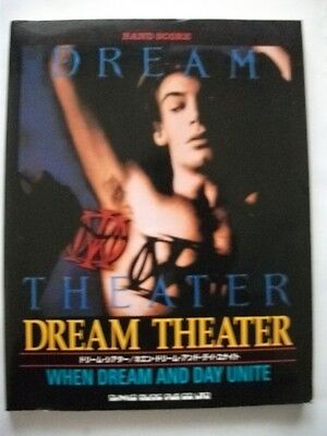 Dream Theater When Dream And Day Unite Japan Band Score Guitar Tab