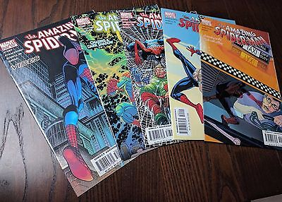 Lote The Amazing Spider-Man # 501-505 (2004)