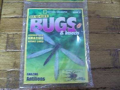 National Geographic Real-life Bugs & Insects magazine Issue 21