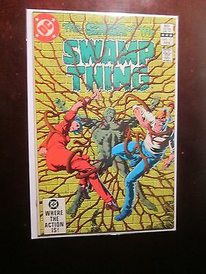 Swamp Thing (1982 2nd Series) #10 - 8.5 VF+ - 1983