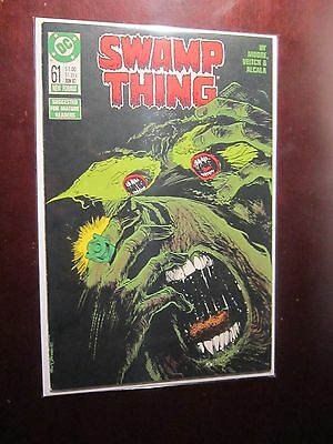Swamp Thing (1982 2nd Series) #61 - 8.0 VF - 1987