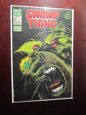 Swamp Thing (1982 2nd Series) #61 - 8.5 VF+ - 1987